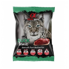 ALPHA SPIRIT SNACKS Cat Duck skanėstai katėms su antiena 50g