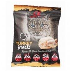 ALPHA SPIRIT Snacks Cat Turkey skanėstai katėms su kalakutiena 50g