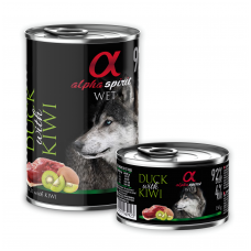Alpha Spirit Wet Duck with Kiwi 400g.
