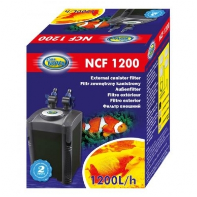 AQUA NOVA išorinis filtras 1200L/h