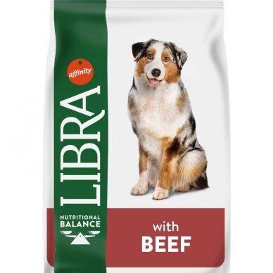 LIBRA Dog Beef šunų maistas