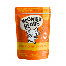 MEOWING HEADS Paw Lickin' Chicken 100gr