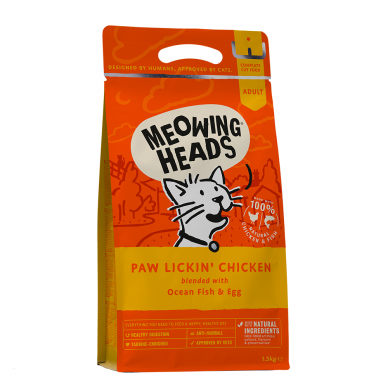MEOWING HEADS Paw Lickin Chicken