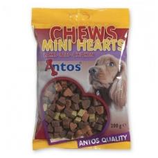 Mini širdelės su ėriena, jautiena ir vištiena 200 g.