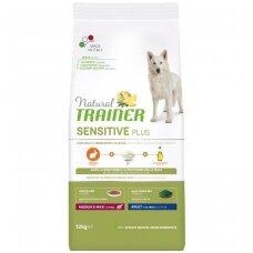 NATURAL TRAINER Sensitive Plus Medium/Maxi Adult Rabbit (buvęs TRAINER FITNESS Medium/Maxi Adult Rabbit-Triušiena)