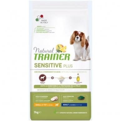 NATURAL TRAINER Sensitive Plus Mini Adult Horse (buvęs TRAINER FITNESS Mini Adult Horse-Arkliena)