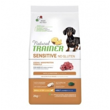 NATURAL TRAINER Sensitive Mini Adult Lamb (buvęs TRAINER FITNESS Mini Adult Lamb-Ėriena)
