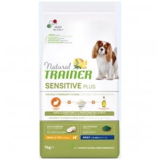 NATURAL TRAINER Sensitive Plus Mini Adult Rabbit (buvęs TRAINER FITNESS Mini Adult Rabbit-Triušiena)