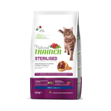 TRAINER NATURAL Cat adult with Dry-Cured Ham (su vytintu kumpiu)