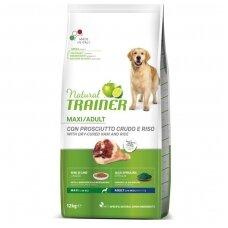 Trainer Natural Maxi Adult with Dry Cured Ham (su kumpiu)