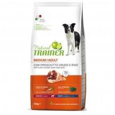 Trainer Natural Medium Adult with Dry Cured Ham (su kumpiu)