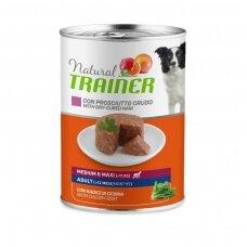 Trainer Natural Medium/Maxi Adult Ham konservai su vytintu kumpiu 400g