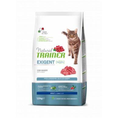 NATURAL TRAINER Cat Exigent Beef