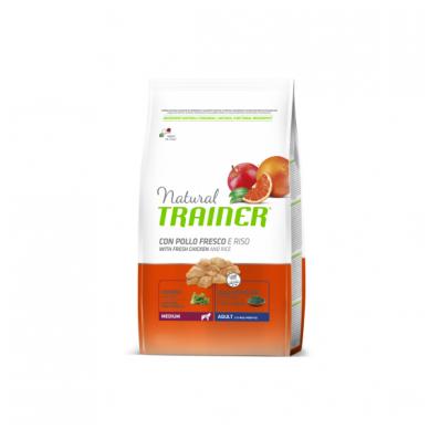 Trainer Natural Medium Adult Chicken (vištiena/ryžiai)